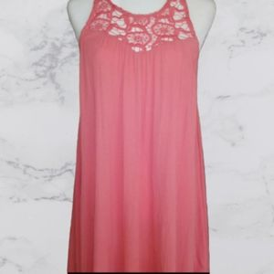 Altar'd State swing dress in coral
